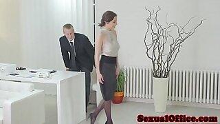 Brazzers xxx: Georg Moms fucked in office