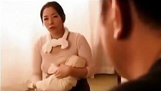 Brazzers xxx: Teenie japan with fake breasts tugging