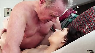 Brazzers xxx: He gets his hot ripe young pussy fucked by a guy and swallows his load