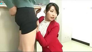 Brazzers xxx: Japanese Teacher fucked by students