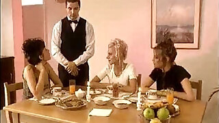 Brazzers xxx: French Dinner Party Orgy