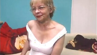 Brazzers xxx: Naughty Grandma Strips