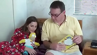 Brazzers xxx: Bedtime story for daughter