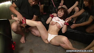 Brazzers xxx: Groped, poked and toy fucked by the boys