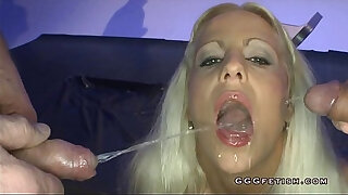 Brazzers xxx: Slut gets mouth fucking with facial cumshot