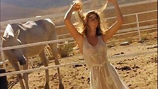 Brazzers xxx: Photoshoot beautiful strip nude softcore