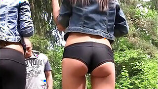 Brazzers xxx: student party in the woods