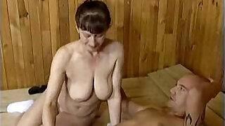 Brazzers xxx: Grannys Naughty Blowjob