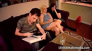 Brazzers xxx: brother giving his step sister stepbrother