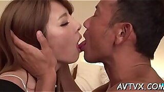 Brazzers xxx: Japanese slut scene spooning with craves, puns and cocks