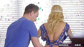 Brazzers xxx: Naughty Step Mom with Nesti Handjob