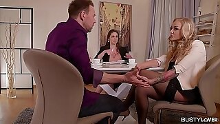 Brazzers xxx: Cathy Heaven Busty For her first Date